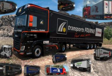 French Truck & Trailers Skins Krone v0.2 1.35.x