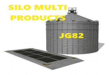 FS19 Main Silo Multi Products v1.0