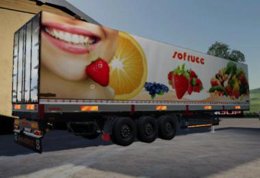 FS19 ROAD TRAILER SOFRUCE v1.5