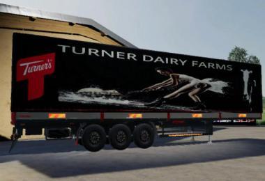 FS19 ROAD TRAILER TUNER DAIRY v1.5