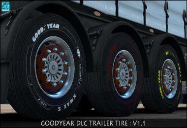 GOODYEAR DLC TRAILER TIRES v1.1 1.35.x