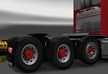 Hub reduction axle and Wheel cover fixed v1.0