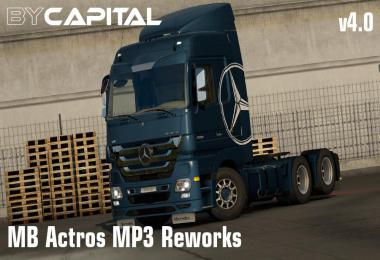 MB Actros MP3 Reworks - ByCapital v4.0