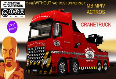 MB ACTROS MPIV CRANETRUCK NO ACTROS TUNING PACK 1.35.x