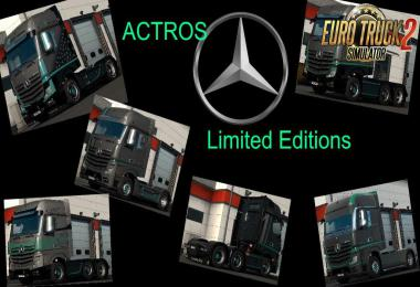 New Actros Limited Editions by Dreamcatcher 1.35.x