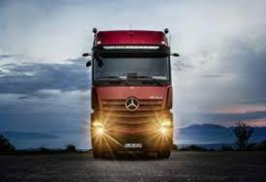 NEW MERCEDES ACTROS SOUNDS 1.35 v1.01