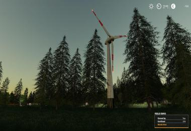 Placable wind turbine Updated by Stevie
