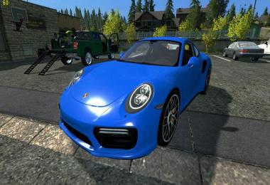 Porsche 911 Turbo 2018 future v1.0