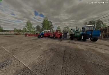 Russian Pack Tractors + Implements v1.0