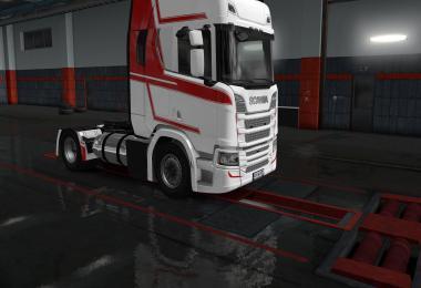 Scania NG-R LNG Tanks v1.0