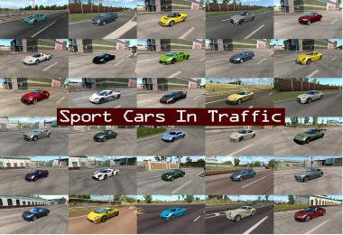 Sport Cars Traffic Pack by TrafficManiac v4.5