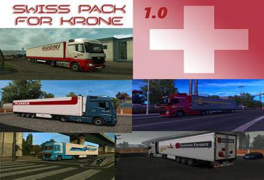Swiss Trailer Pack for Krone DLC 1.35.x