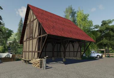 Timberframe Barn With Attic v1.1.0.0
