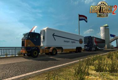 Trailer Kassbohrer v1.15 for Volvo F88 by XBS 1.35.x