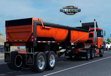 Trailer Trail King Quarter Frame End Dump v1.0 1.35.x