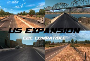 US Expansion v2.6.1 (Normal + C2C Compatible) 1.35.x