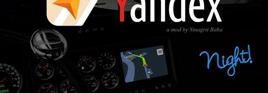 [ATS] Yandex Navigator Night Version v1.1
