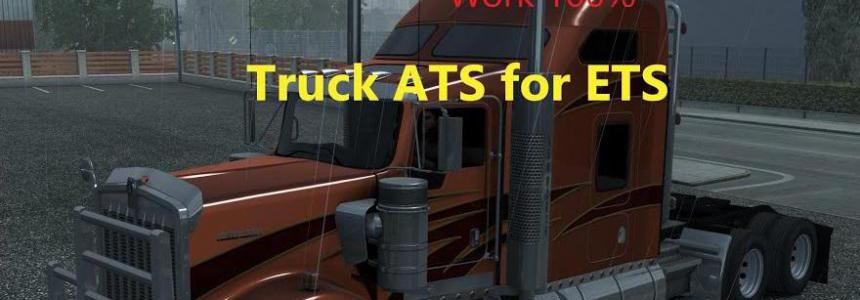 ATS SCS Truck Pack for ETS2 (DX11) 1.35.x