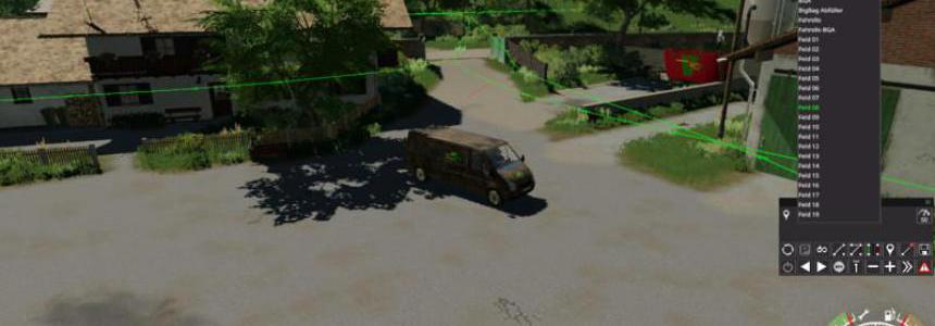 Autodrive courses for the map Hof Bergmann v1.0.0.4