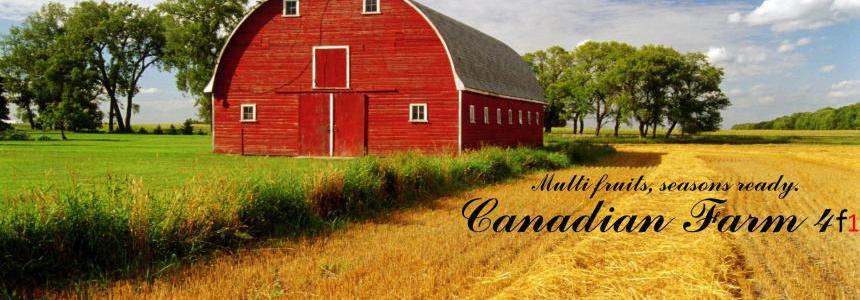 Canadian Farm Map F1