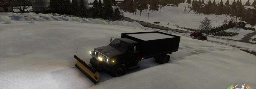 Chevy C70 grain plow truck v1.0