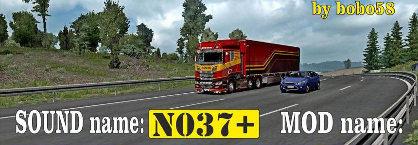 ETS2 Engine XSound N037+ 1.35.x