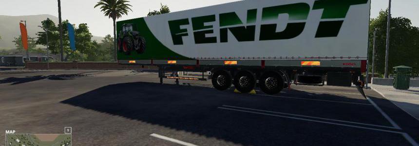 FS19 FENDT KOGEL AUTOLOADER TRAILER v1.0