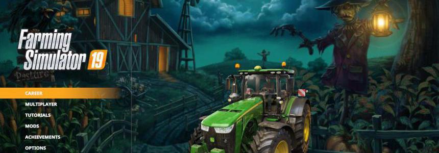 Halloween 2019 Menu Background By Crowercz