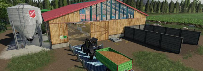 FS19 Organic Pigsty Placeable v1.9