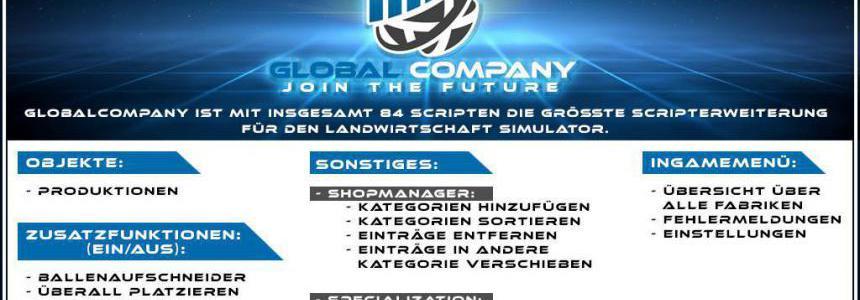 GlobalCompany v1.1.1.0