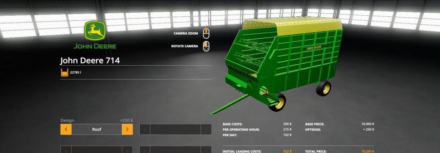 John Deere 714 Forage Box v1.0