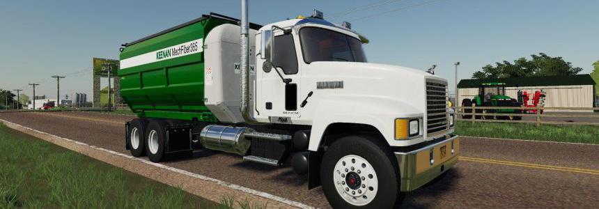 Mack Pinnacle Feed Truck v1.0