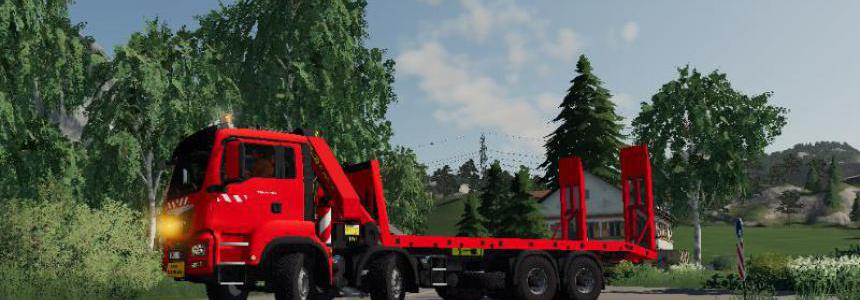 MAN TGS PORTE ENGINS v1.5
