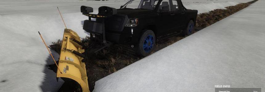 Pickup 2014 snow plow v1.0