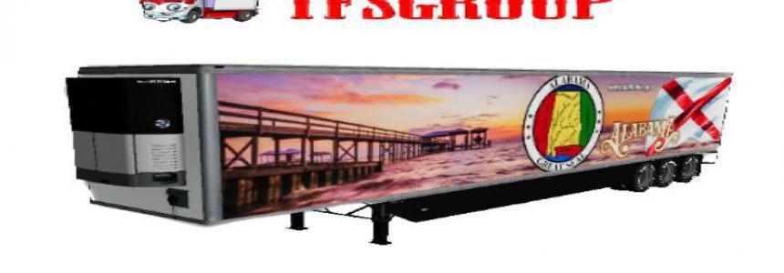 Refrigerated industrial trailer ALABAMA v1.5