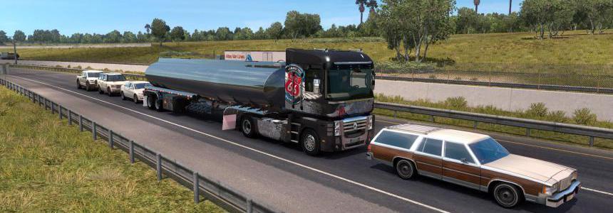 Renault Magnum in traffic 1.35.x