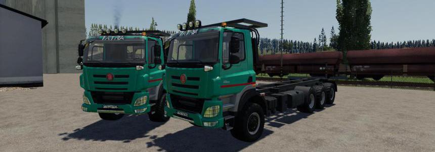 Tatra 8x6 EURO6 v1.0