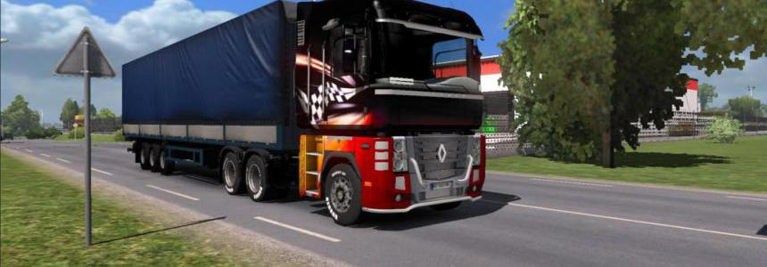 Trailer MAZ 9758 in property v2.0