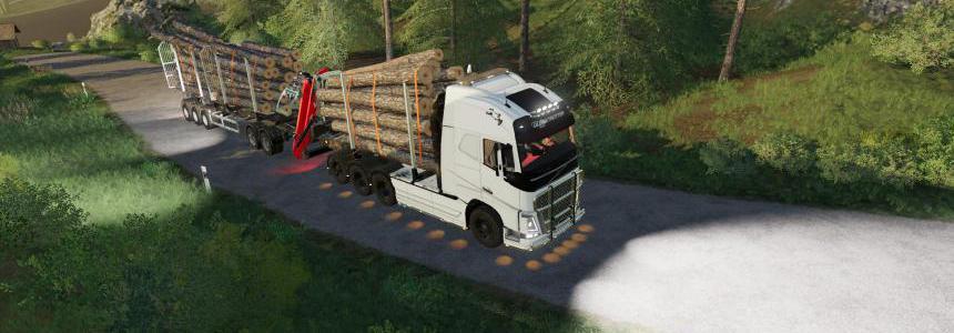 Volvo FH16 wood 2019 wood v1.6.0.0