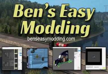 Bens Easy Modding - Create own mod + Tools for modders 1.35.2