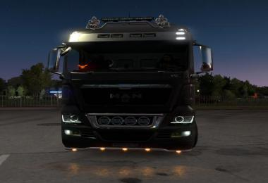 Angel Eyes for MAN TGX v1.0