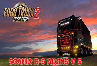 Scania R-S Adons v5.0 1.35