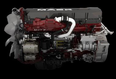 Mack MP7-8 Sounds and Real engines transmission v1.0