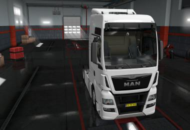 Exterior view reworked for MAN TGX Euro 6 v1.0