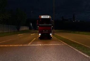 Tinted Headlights Renault-T v0.1