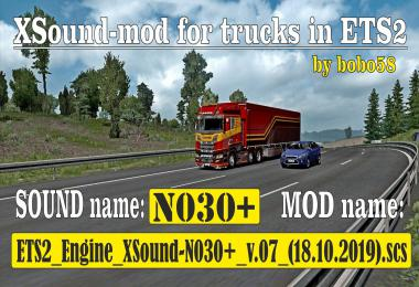 ETS2 Engine XSound N030+ 1.35.x