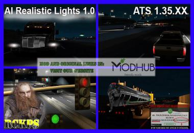 AI Realistic lights v1.0 for ATS 1.35.x