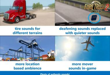 [ATS] Sound Fixes Pack v19.37 1.35.x
