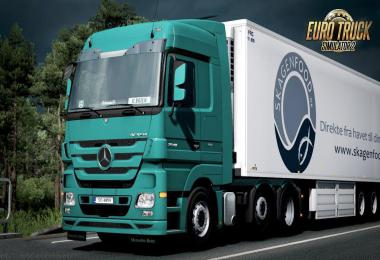 Cabin sounds for Mercedes Actros MP3 V6 410 1.35.x