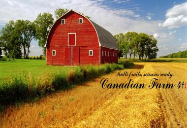 Canadian Farm Map F1